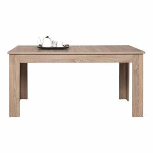 TEMPO KONDELA Grand 12 rozkladací jedálenský stôl dub sonoma