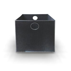 TEMPO KONDELA Tofi-Lexo úložný box čierna