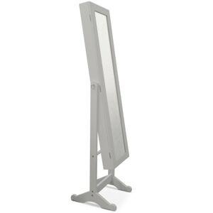 KONDELA Miror FY13015-3 stojace zrkadlo sivá