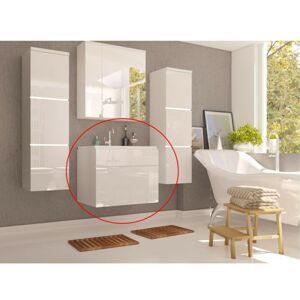 TEMPO KONDELA Mason WH 13 kúpeľňová skrinka pod umývadlo biela