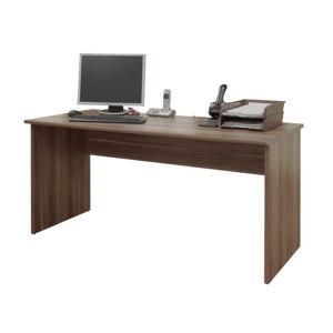 KONDELA Johan New 1 písací stôl slivka
