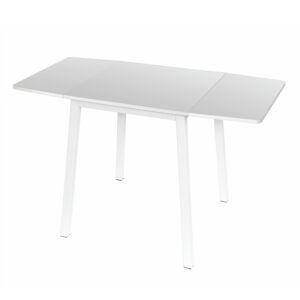 TEMPO KONDELA Mauro rozkladací jedálenský stôl biela