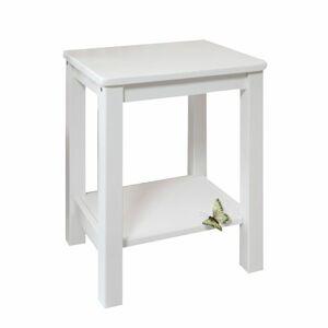 TEMPO KONDELA Fosil nočný stolík biela