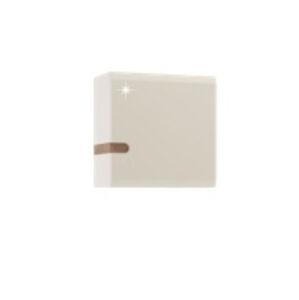 TEMPO KONDELA Lynatet 65 skrinka na stenu biela / dub sonoma truflový