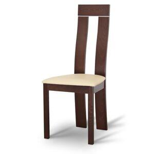 TEMPO KONDELA Desi jedálenská stolička orech / béžová