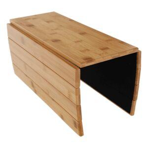 KONDELA Alte drevená podložka na sedačku bambus