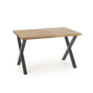 HALMAR Apex 140 M jedálenský stôl dub prírodný / čierna