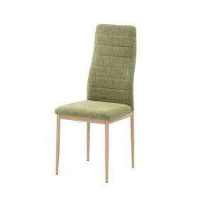 TEMPO KONDELA Coleta Nova jedálenská stolička zelená / buk