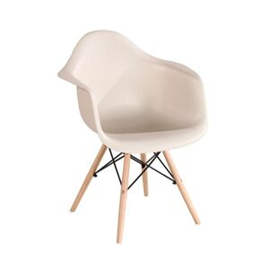 TEMPO KONDELA Damen New jedálenská stolička cappuccino / buk