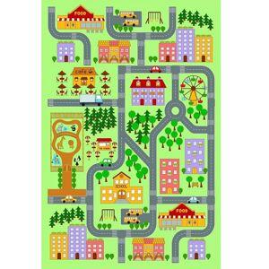 TEMPO KONDELA Ebel koberec 100x150 cm kombinácia farieb