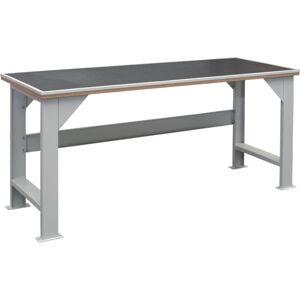 NABBI EFSS03MG pracovný stôl svetlosivá