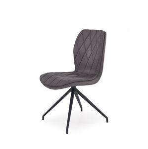 HALMAR K237 jedálenská stolička sivá