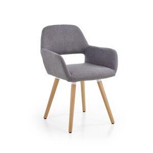 HALMAR K283 jedálenská stolička sivá