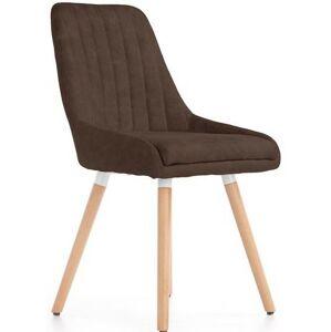 HALMAR K284 jedálenská stolička hnedá