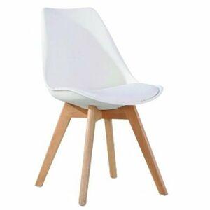 TEMPO KONDELA Bali 2 New jedálenská stolička biela / buk
