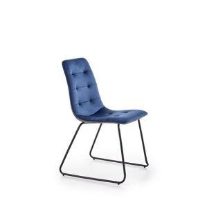 HALMAR K321 jedálenská stolička granátová / sivá / čierna