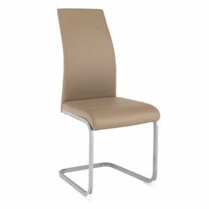 TEMPO KONDELA Nobata jedálenská stolička sivohnedá (taupe) / sivá