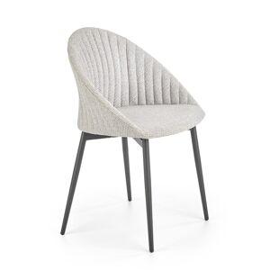 HALMAR K357 jedálenská stolička sivá / čierna