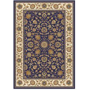 TEMPO KONDELA Kendra Typ 1 koberec 133x190 cm tmavomodrá / orientálny vzor