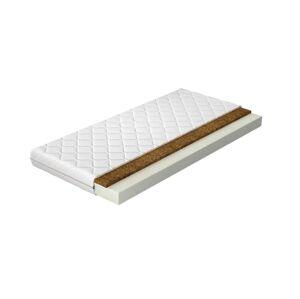 NABBI Lita 90 obojstranný penový matrac PUR pena / kokosová doska / látka