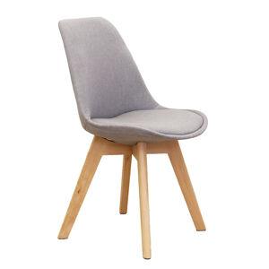 TEMPO KONDELA Lorita jedálenská stolička sivá / buk