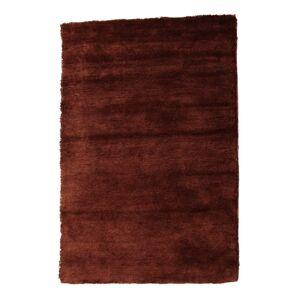 TEMPO KONDELA Luma koberec 170x240 cm bordovohnedá
