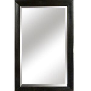 TEMPO KONDELA Malkia Typ 1 zrkadlo na stenu čierna