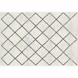 KONDELA Mates Typ 2 koberec 133x190 cm béžová / vzor