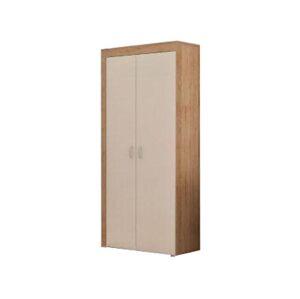 MEBLOCROSS Mamba 2D šatníková skriňa sonoma svetlá / biela
