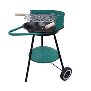 NABBI MIR-276 záhradný gril čierna / zelená