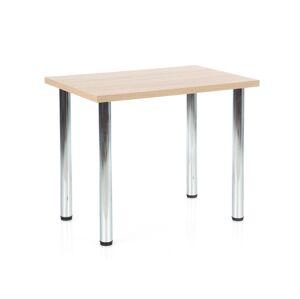 HALMAR Modex 90 jedálenský stôl dub sonoma / chróm