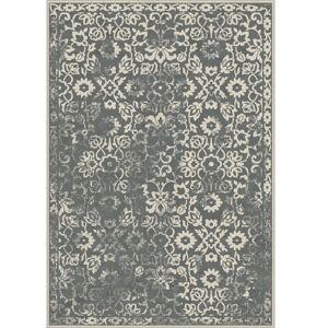 TEMPO KONDELA Moria koberec 160x230 cm tmavosivá