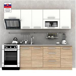 TEMPO KONDELA Nova Plus 240 kuchyňa dub sonoma / biela