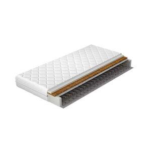 NABBI Olbia 90 pružinový matrac pružiny / plsť / kokosová doska / PUR pena / látka
