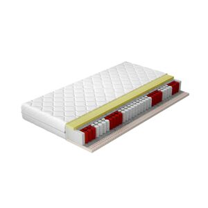 NABBI Pavio 180 obojstranný taštičkový matrac latex / pružiny / plsť / pamäťová pena / látka