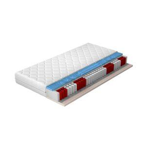 NABBI Pemo 180 obojstranný taštičkový matrac latex / pružiny / plsť / pamäťová pena / látka