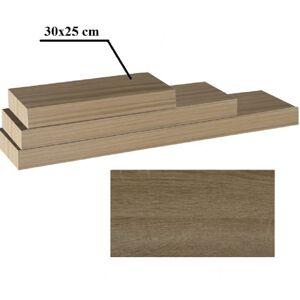 TEMPO KONDELA Gana polica 30x25 cm dub truflový