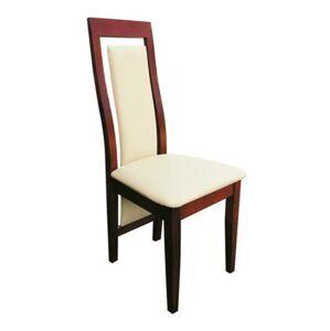 PYKA Lisa jedálenská stolička bawaria / krémová (Madras G100)