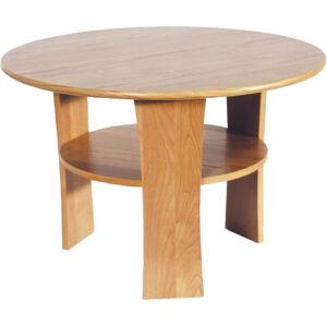 MEBLOCROSS Ring 1/D okrúhly konferenčný stolík jelša
