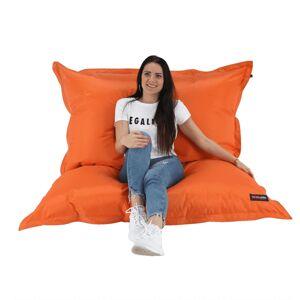 TEMPO KONDELA Getaf sedací vak oranžová