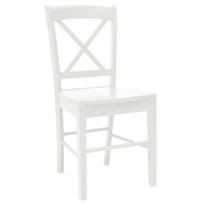 SIGNAL CD-56 jedálenská stolička biela