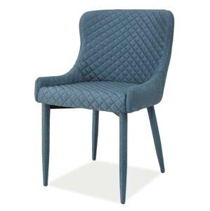 SIGNAL Colin jedálenská stolička denim