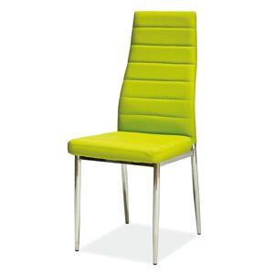 SIGNAL H-261 jedálenská stolička zelená