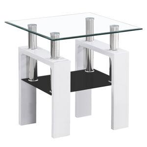 SIGNAL Lisa D konferenčný stolík biela