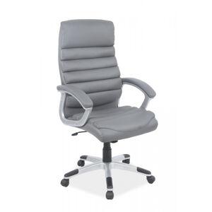 SIGNAL Q-087 kancelárske kreslo sivá