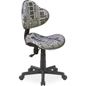 SIGNAL Q-G2 kancelárska stolička text