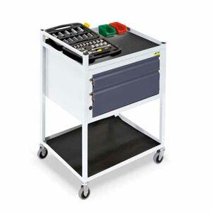 NABBI TWS 04 mobilný servisný vozík na kolieskach svetlosivá / grafit