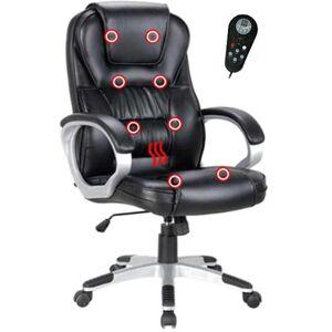 TEMPO KONDELA Tyler UT-C2652M kancelárske kreslo s podrúčkami čierna / sivá