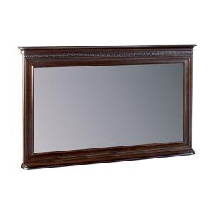 TARANKO Verona V-L1 rustikálne zrkadlo na stenu hnedá