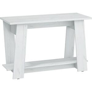 MEBLOCROSS Via Via-01 pc stôl craft biely